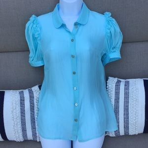 D&G silk blouse size 42